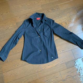 ヴィヴィアンウエストウッド(Vivienne Westwood)のVivienne Westwood|シンプル黒シャツ(シャツ/ブラウス(長袖/七分))