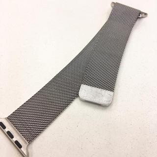 アップルウォッチ(Apple Watch)のアップルウォッチ ミラネーゼループ 38/40mm 用 Apple Watch(その他)