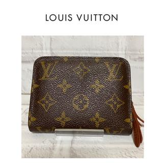 LOUIS VUITTON - LOUIS VUITTON モノグラム ミニ財布 ファスナー