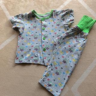 男児 腹巻き付き 星柄パジャマ 半袖 95㎝(パジャマ)
