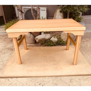 テレワークテーブル折れ脚90日本製(折たたみテーブル)