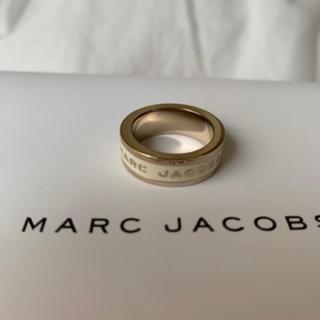 マークジェイコブス(MARC JACOBS)の*chapi様専用* MARC JACOBS リング ホワイト ゴールド(その他)