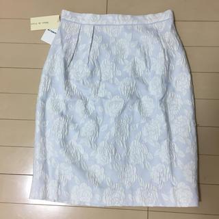 デビュードフィオレ(Debut de Fiore)のDebut de Fiore ジャガードタイトスカート(ひざ丈スカート)