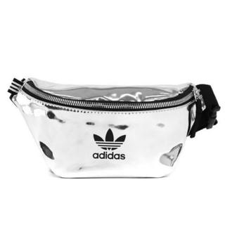 アディダス(adidas)のadidas アディダスオリジナルス ウエストポーチ シルバー(ボディバッグ/ウエストポーチ)