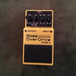 ボス(BOSS)のBOSS   bass over drive ODB-3(ベースエフェクター)