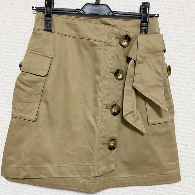 snidel(スナイデル)のsnidel トレンチミニスカート レディースのスカート(ミニスカート)の商品写真