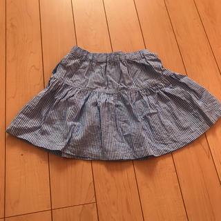 マザウェイズ(motherways)のマザウェイズ/ストライプ/スカート /120(スカート)