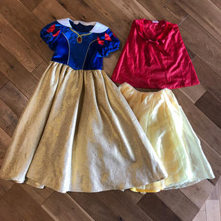 ディズニー(Disney)のディズニー ランド 正規品 ビビディバビディブティック 白雪姫 ドレス 130(ドレス/フォーマル)