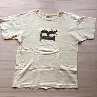 フォーティーファイブアールピーエム(45rpm)の45rpm 半袖 Tシャツ メンズ 4 薄い黄色 難あり(Tシャツ/カットソー(半袖/袖なし))