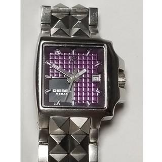 ディーゼル(DIESEL)の【匿名配送】DIESEL腕時計・レディース・パープル(腕時計)