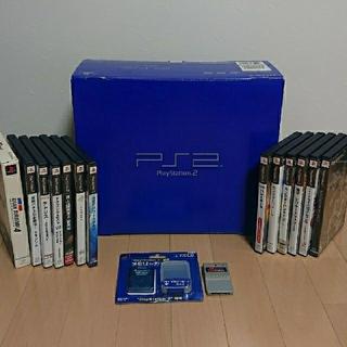 動作確認済み!PlayStation2本体一式とソフト13本セット