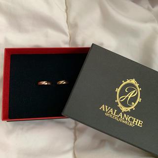 アヴァランチ(AVALANCHE)のAVALANCHE Rings (Gold,Rose gold)(リング(指輪))