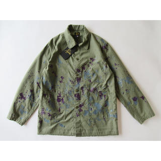 Needles - NEEDLES D.N. COVERALL BACK SATEEN/PAINT