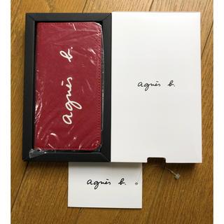 アニエスベー(agnes b.)のアニエス・ベー ★ iPhone手帳型ケース 赤(iPhoneケース)