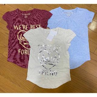 コストコ(コストコ)の新品 3枚セット ★ M 130 VIGOSS ガールズ Tシャツ コストコ(Tシャツ/カットソー)