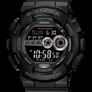 カシオ(CASIO)のG-SHOCK【GD-100-1BJF】腕時計(腕時計(デジタル))