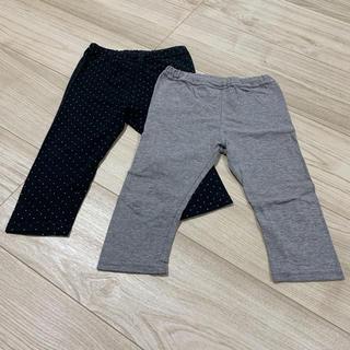 ムジルシリョウヒン(MUJI (無印良品))のSALE☆無印良品 レギンス パンツ 90cm (パンツ/スパッツ)
