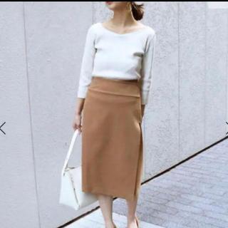 ノーブル(Noble)のNOBLE ダブルクロスラップスカート (ひざ丈スカート)