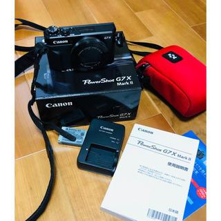Canon - 【美品】Canon Power Shot G7X Mark II  ★備品つき