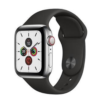アップルウォッチ(Apple Watch)の【新品未使用】Apple Watch 40mmケース用ブラックスポーツバンド(その他)