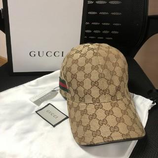 Gucci - グッチ キャップ ベージュ