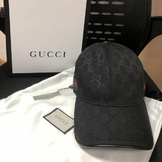 Gucci - グッチ キャップ ブラック