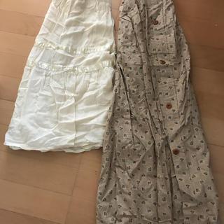ラルフローレン(Ralph Lauren)のラルフローレンスカートand未使用クシュクシュスカート(ロングスカート)