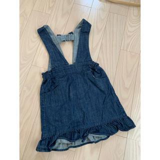 エフオーキッズ(F.O.KIDS)のアプレレクール☆Lee☆デニムスカート☆サイズ110(スカート)
