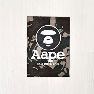 アベイシングエイプ(A BATHING APE)のAape ステッカー(その他)