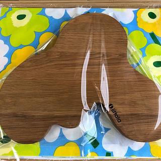 イッタラ(iittala)の☆未使用☆ イッタラ アアルト 木製 サービングプラター 廃盤品 レア スモール(テーブル用品)
