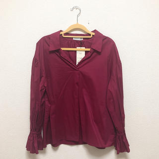 WEGO - ワインレッド シャツ