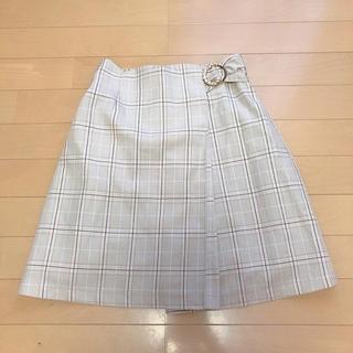 MAJESTIC LEGON - ラップスカラップスカート 台形スカート