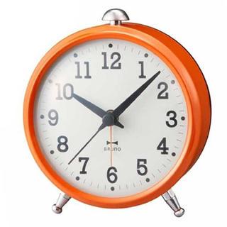 イデアインターナショナル(I.D.E.A international)のBRUNO オールドスタンダード アラームクロック オレンジ BCA009-OR(置時計)