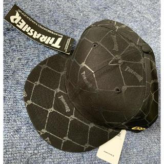 スラッシャー(THRASHER)のTHRASHER 帽子 ブラック(キャップ)