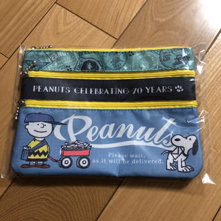 PEANUTS - 郵便局 スヌーピー SNOOPY スリージップポーチ