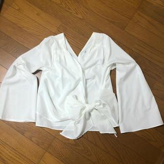 リゼクシー(RESEXXY)のリボンシャツ(シャツ/ブラウス(長袖/七分))