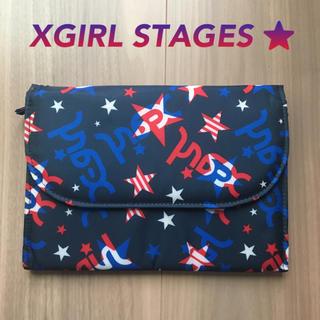 X-girl Stages - 値下げ 新品未使用 xgirl 母子手帳ケース 通帳ケース バッグインバッグ