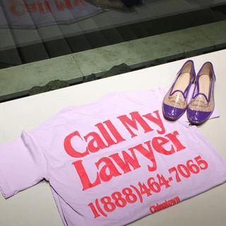 """ビューティアンドユースユナイテッドアローズ(BEAUTY&YOUTH UNITED ARROWS)の""""call my lawyer"""" ロゴTシャツ(Tシャツ/カットソー(半袖/袖なし))"""
