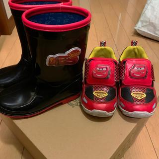 ディズニー(Disney)のkids用 カーズ スニーカー&長靴セット(長靴/レインシューズ)
