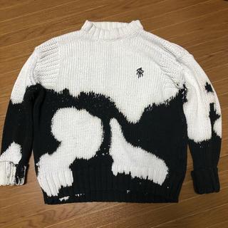 ラフシモンズ(RAF SIMONS)のRepresent sweater xs リプレゼント セーター ニット(ニット/セーター)