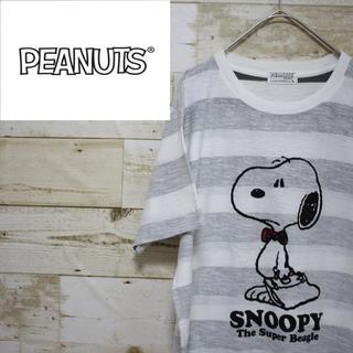 ピーナッツ(PEANUTS)のPEANUTS ピーナッツ 半袖 Tシャツ スヌーピー(Tシャツ/カットソー(半袖/袖なし))