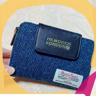 ハリスツイード(Harris Tweed)の財布(ポーチ)