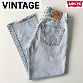 Levi's - 希少 ビンテージ 90s ユーロリーバイス 501 カットオフデニム W29