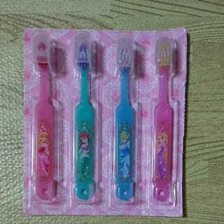 ディズニー(Disney)のプリンセス 歯ブラシセット 4本(その他)