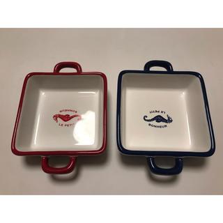 フランフラン(Francfranc)の【猫餌用】フランフラン お皿 2枚セット(猫)