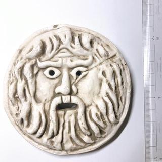 ローマのお土産 ミニ 真実の口(置物)