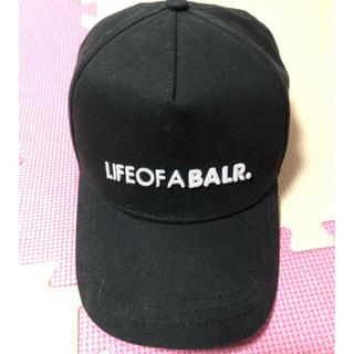 エフシーアールビー(F.C.R.B.)のボーラー  BALR.ベースボールキャップ ブラック(キャップ)