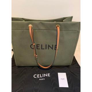 celine - 新品 celine セリーヌ スクエア キャンバス トートバッグ