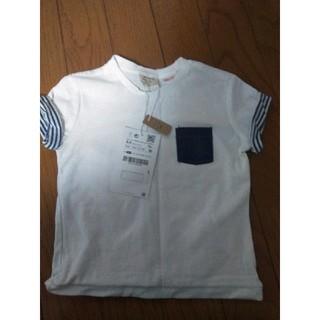 ザラ(ZARA)のザラ Tシャツ 新品(Tシャツ)