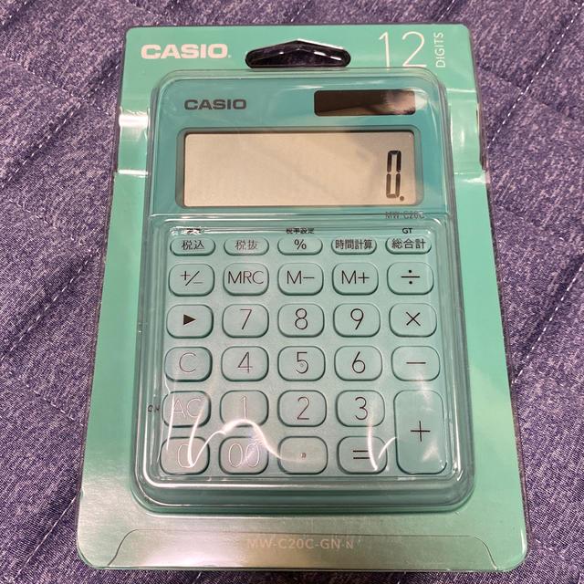 CASIO(カシオ)の【新品】CASIO 12桁電卓 インテリア/住まい/日用品のオフィス用品(OA機器)の商品写真